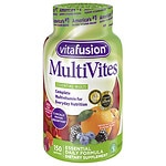 Vitafusion MultiVites, Adult Vitamins, Gummies, Natural Berry, Peach & Orange- 150 ea