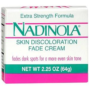 Nadinola Skin Discoloration Fade Cream, Extra Strength Formula