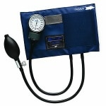 Mabis Caliber Series Aneriod Sphygmomanometer, Large Adult Size
