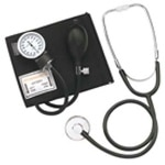 Mabis Two-Party Home Blood Pressure Kit, Large Adult Cuff