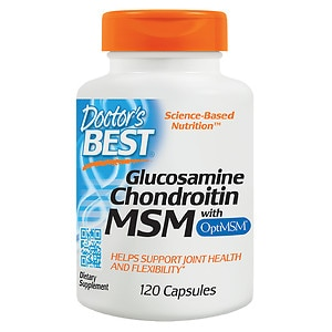 Doctor's Best Glucosamine Chondroitin MSM, Capsules- 120 ea
