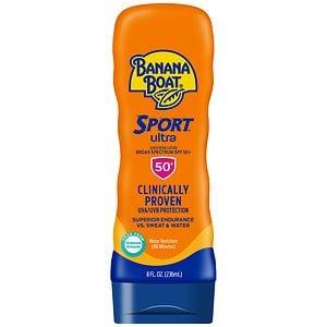 Banana Boat Sport Performance Sunscreen Lotion, SPF 50+- 8 fl oz