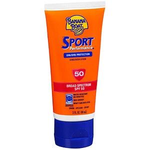 Banana Boat Sport Performance Sunscreen Lotion, SPF 50- 3 fl oz