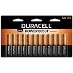 Duracell Coppertop Alkaline Batteries, AA- 24 ea