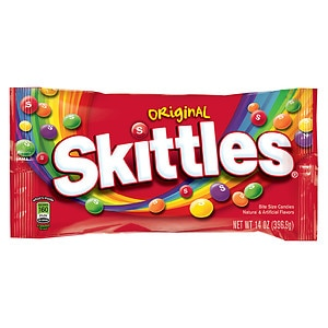 Skittles Bite Size Candies, Original- 14 oz