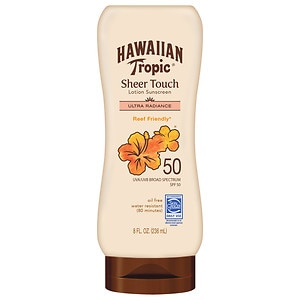 Hawaiian Tropic Sheer Touch Sunscreen Lotion, SPF 50