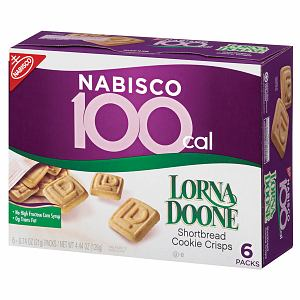 Nabisco 100 Calorie Packs, Lorna Doone