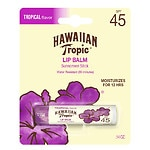 Hawaiian Tropic Lip Balm Stick Sunscreen, SPF 45+, Tropical