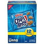 Nabisco Cookie Snack Pack, Mini Chips Ahoy, 12 pk- 1 oz