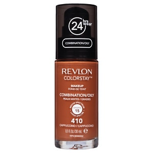Revlon Colorstay for Combo/Oily Skin Makeup, Cappuccino 410