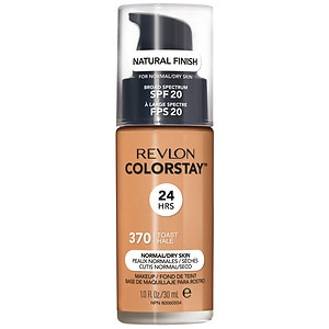 Revlon Colorstay for Normal/Dry Skin Makeup with SoftFlex, Toast 370