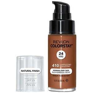 Revlon Colorstay for Normal/Dry Skin Makeup with SoftFlex, Cappuccino 410