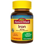 Nature Made Iron, 65mg, Tablets