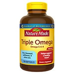 Nature Made Triple Omega, Liquid Softgels