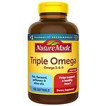 Nature Made Triple Omega, Liquid Softgels- 150 ea