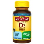 Nature Made Vitamin D3 5000 IU, Liquid Softgels- 90 ea