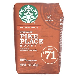 Starbucks Coffee Pike Place Medium Roast, Ground