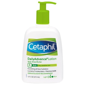 Cetaphil DailyAdvance Ultra Hydrating Lotion For Dry, Sensitive Skin- 16 fl oz
