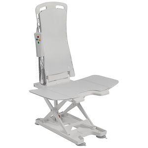 Drive Medical Bellavita Auto Bath Tub Chair Seat Lift, Blue- 1 ea