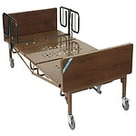 Drive Medical Full Electric Super Heavy Duty Bariatric Hospital Bed with T Rails, 1000 pound limit- 1 ea