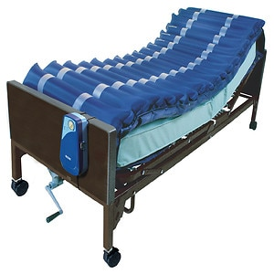 Drive Medical Med Aire Low Air Loss Mattress Overlay System with APP- 1 ea