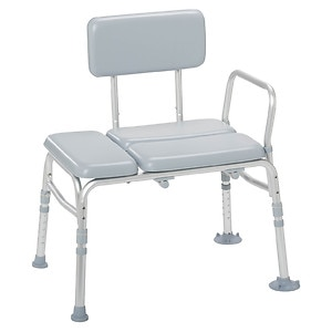 Drive Medical Padded Seat Transfer Bench- 1 ea