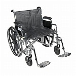 Drive Medical Sentra Heavy Duty Wheelchair with Detachable Full
