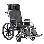 Drive Medical Sentra Reclining Wheelchair with Detachable Desk