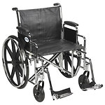Drive Medical Sentra EC Heavy Duty Wheelchair with Detachable