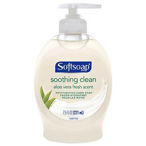 Softsoap Liquid Hand Soap,, Soothing Aloe Vera