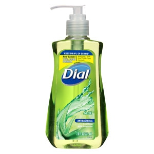 Dial Antibacterial Hand Soap, with Moisturizing Aloe