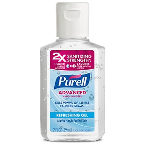 Purell Advanced Hand Sanitizer, Refreshing