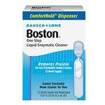 Boston One Step Liquid Enzymatic Cleaner, 12 dispensers
