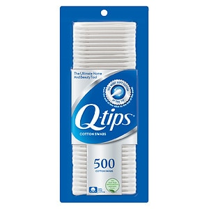 Q-tips Cotton Swabs- 500 ea