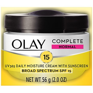 Olay Complete All Day Moisture Cream With Sunscreen SPF 15, Normal- 2 oz