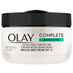 Olay Complete All Day Moisturizer with Broad Spectrum SPF 15, Sensitive- 2 fl oz