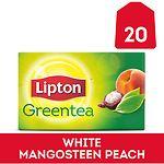 Lipton Green Tea, White Mangosteen Peach