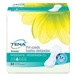 Tena Serenity Anywhere Ultra Thin Pads, Long