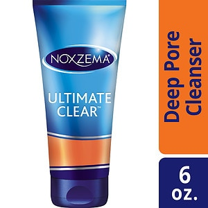 Noxzema Ultimate Clear Daily Deep Pore Cleanser- 6 oz