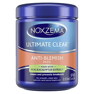 Noxzema Ultimate Clear Anti-Blemish Pads- 90 ea