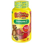 L'il Critters Immune C Plus Zinc and Echinacea, Gummy Bears