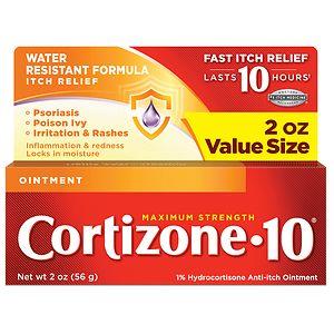 Cortizone 10 Hydrocortisone Anti-Itch Oinment, Maximum Strength