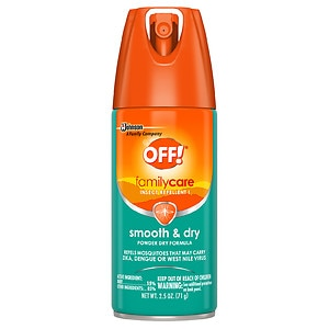 Off! Familycare Smooth & Dry Insect Repellent- 2.5 oz