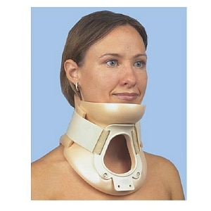 ITA-MED Extra Firm Philadelphia Tracheotomy Cervical Collar Adult, Small, Beige