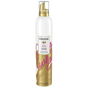 Pantene Pro-V Curly Hair Style Curl Defining Hair Mousse, 6.6 oz
