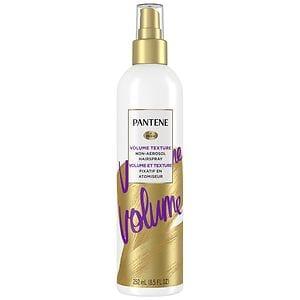 Pantene Pro-V Fine Hair Style Touchable Volume Non-Aerosol Hairspray, Flexible Hold, 8.5 fl oz