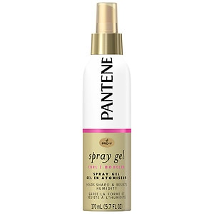 Pantene Pro-V Curly Hair Style Curl Enhancing Spray Hair Gel, 5.7 fl oz