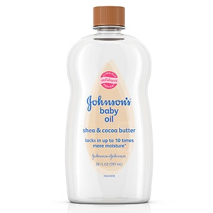 Johnson's Baby Oil with Shea & Cocoa Butter