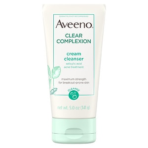 Aveeno Active Naturals Clear Complexion Cream Cleanser- 5 oz