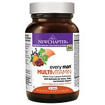 New Chapter Every Man Multi Vitamin, Tablets- 120 ea